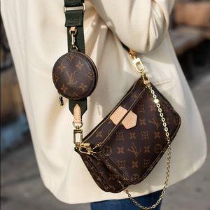 Louis Vuitton multi pochette with accessories